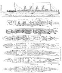titanic floor plan deck plans of the lusitania ocean liners pinterest boating and
