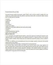 Teacher Resume Experience Examples by Teacher Resume Examples 23 Free Word Pdf Documents Download