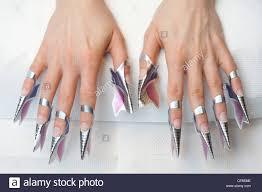gel nails stock photos u0026 gel nails stock images alamy