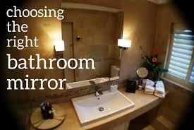 4 Ft Bathroom Vanity by Sizing The Mirror Above Your Bathroom Vanity Dengarden