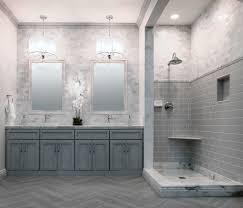 Bathroom Floor Tile Kohler Vintage Tub With Mosaic Marble Floor Tile Bathroom