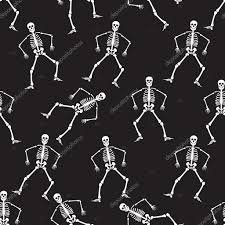 Dancing Halloween Skeleton by Halloween Greetings Skeleton Jump Illustration Halloween