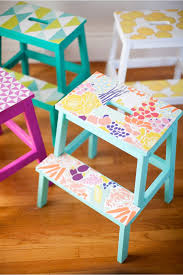 Ikea Stepping Stool 13 Surprising And Delightful Ways To Use Wallpaper Diy Wallpaper