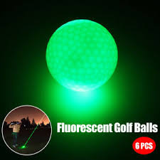 light up golf balls 6pcs set sports led golf balls glow in the dark night light up