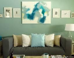 diy painting living room home design ideas