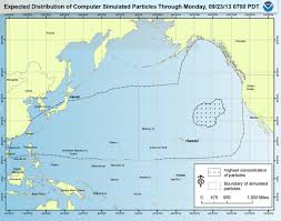 Oregon Tsunami Map by Floating Debris From Japan U0027s Tsunami Headed For U S D Brief