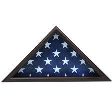 Black And Blue Flag Pride Ceremonial Flag Case Made4hereos 100 American Made
