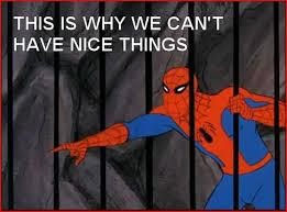 1960s Spiderman Meme - 60s spiderman the wolf web wiki fandom powered by wikia