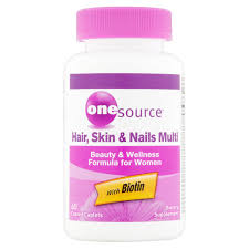 onesource hair skin u0026 nails multi beauty u0026 wellness formula for