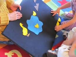 every day flannel board play teach preschool