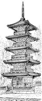 drawing a house 1 clipart etc chinese pagoda clipart collection