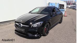 mercedes cla45 amg 2017 mercedes amg cla45 start up exhaust sound in depth review