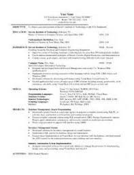 Sample Resume For Qtp Automation Testing by Sample Resume For Qtp Automation Testing Cv Template Junior