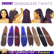 hairstyles with senegalese twist with crochet 18inch crochet senegalese twists hairstyles kanekalon ombre