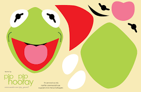 best photos of template of kermit face kermit the frog face mask