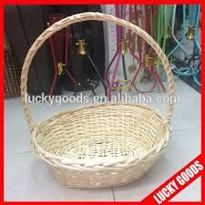 bulk gift baskets custom bulk wicker baskets for flowers or fruit buy bulk wicker