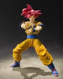 dragon ball sh figuarts super saiyan god son goku preview