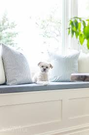 window bench for dog simple modern farmhouse dining room updates a burst of beautiful