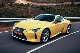 lexus supercar hybrid lexus lc f planned for 2019 to come with 450kw twin turbo v8