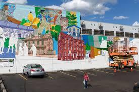 paint day germantown mural mural arts philadelphia mural arts paint day germantown mural