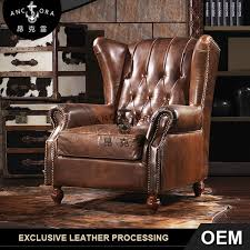 Leather Chesterfield Armchair Armchair Armchair Suppliers And Manufacturers At Alibaba Com
