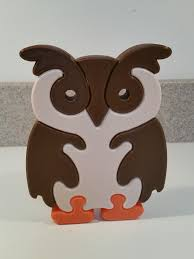 3d printed owl puzzle by 19jsh57 pinshape