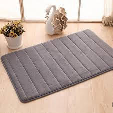 Non Slip Bathroom Rugs by New Memory Foam Washable Mat Bedroom Floor Pad Non Slip Bath Rug