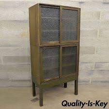 Metal Lawyers Bookcase Steel Antique Bookcases Ebay