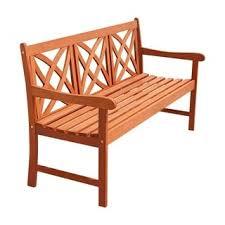 Emily Garden Bench Safavieh Outdoor Living Karoo Natural Acacia Wood Bench Free