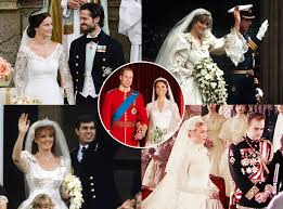 14 royal wedding dresses that could inspire pippa middleton u0027s top