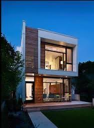 image result for narrow modern home exterior modern narrow