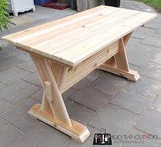 Diy Patio Table Diy Cedar Patio Table 100 Things 2 Do