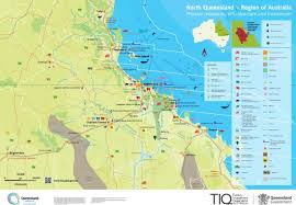 map of queensland map of queensland primary resources infrastructure and