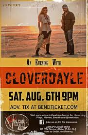 cloverdayle at volcanic tickets volcanic theatre pub bend or