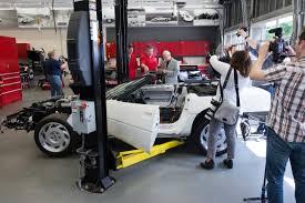 corvette restoration shops chevrolet pressroom united states images