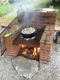 How To Build A Pizza Oven In Your Backyard All About Built In Barbecue Pits Barbecue Pit Barbecues And