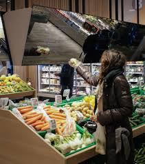 this concept design could be the supermarket of the future
