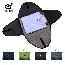 Ecosusi men t shirt fold packing storage bags for 1 5pcs clothes