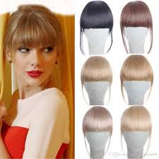 clip in bangs 6 20g clip in bangs hair extension hairpieces false clip on