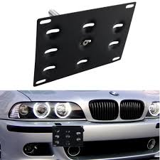 Bmw X5 61 Plate - amazon com dewhel front bumper tow hook license plate mount