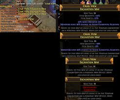 Poe Maps Unlock Red Maps With Ease Thanks Annulment Orbs Pathofexile