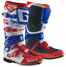 tech 10 motocross boots 2017 gaerne sg12 motocross boots red white blue