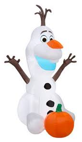 5 u2032 olaf halloween inflatable only 29 97 free store pickup