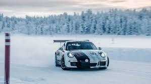 porsche winter 911 gt3 cup porsche driving experience winter levi finland dr