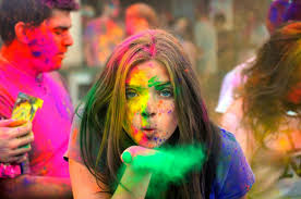 colorful happy holi sms wishes in english