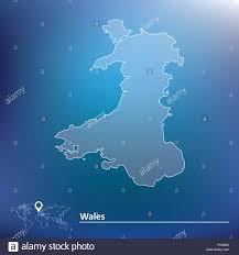 Map Of Wales Map Of Wales Vector Illustration Stock Vector Art U0026 Illustration