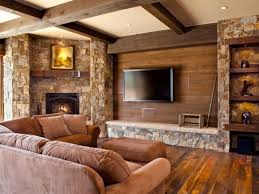 modern wooden house living room interior 4 home ideas