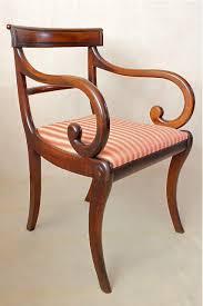 regency mahogany armchair antiques atlas