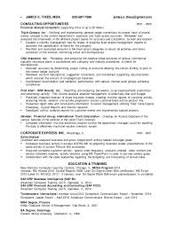 resume of financial analyst james thies resume senior financial analyst 12