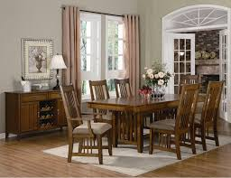 modern home interior design dining room a set black wooden
